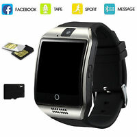 Touch Screen Bluetooth Smart Wrist Watch with Camera Sim Card for Android Phone