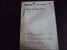 Original Service Manual Nokia RC 9420 Polo Cassette