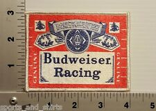 1980's BUDWEISER RACING BEER BUD VINTAGE PATCH
