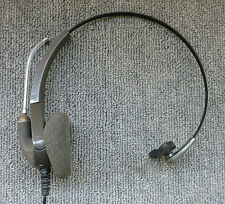 Plantronics H91 Encore Monaural Gray Headband Voice Tube Office Headset