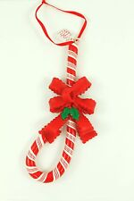 Vintage Dough Candy Cane Original Christmas Ornament Holiday Tree Decoration