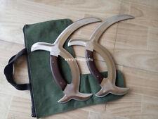 Premium Wushu Double Deer Horns Bagua Yue Master Collection