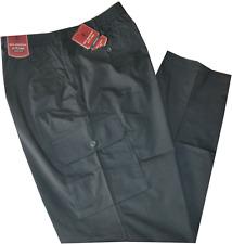 Pantalone uomo taglie forti 3XL 4XL 5XL 6XL 7XL cotone leggero nero Comfort over
