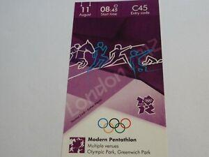 London 2012 Olympic Games MODERN PENTATHLON ticket 11th August CAT A!