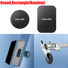 USLION Metal Plate Disc fit Cell Phone Magnet Holder Magnetic Car Mount Sticker