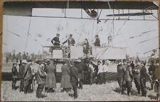 Airship/Dirigible/Blimp 1908 Realphoto French Aviation Postcard: La Republique 4