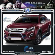 Isuzu D-Max Bull Bar Chrome Nudge A-bar en acier inoxydable 2012-2016 NEUF NX1