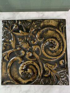 Antique Charleston Bldg Tin Ceiling Tile