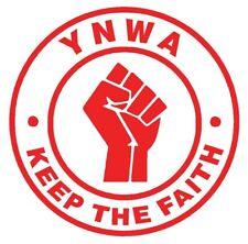 Liverpool LFC 2020 Champions YWNA Keep The Faith Decal  Vinyl Sticker Wall Car