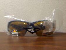 Vertx Yellow Lens Wrap Around Sunglasses Hunting Fishing Polarized NEW 59004