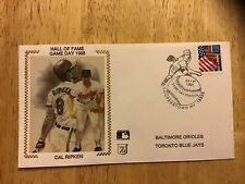 Cal Ripken Jr. Hall Of Fame Game Day 1998 Z Silk Cache With Cooperstown Postmark