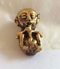 Statuette figurine amulette Zizi LUTIN PERVERS laiton Thaïlande Asie z32
