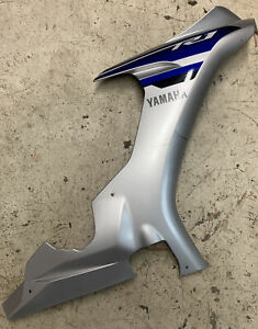 YAMAHA R1 2015 Right Side Upper Fairing Cowl Panel Plastic Used 2CR-2835V-00