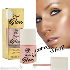 W7 Night Glow Highlighter & Illuminator Shimmer Blush Face Contouring Definer