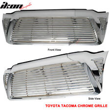 Fits 05-11 Toyota Tacoma ABS Front Upper Hood Grille Chrome