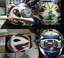 CASCO INTEGRALE IN FIBRA CARBON VEMAR VSR STARLINE 1R27