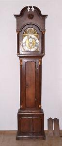 ANTIKE Standuhr London ~ 1770 RIMBAULT Longcase grandfather clock rare Bronze