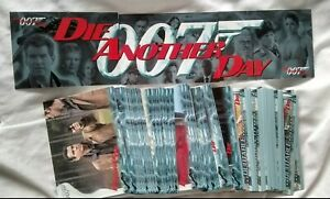 James Bond - DIE ANOTHER DAY - Complete 90 Card Set