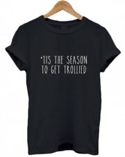 'TIS THE SEASON TO GET TROLLIED, drunk, alcohol, GINgle Bells, Vodka Gin T Shirt
