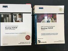 2 Books Set ~ CISCO ROUTING TCP/IP VOLUME 1 AND 2 AUTHOR JEFF DOYLE
