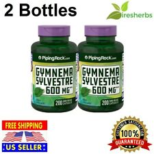 600mg Gymnema Sylvestre Leaf Extract 400 Capsules Blood Sugar Metabolism Support