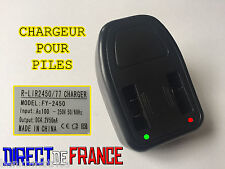 CHARGEUR PILE BOUTON ACCU CR2032 CR2450 CR2430 CR1632 • CHARGE RAPIDE - HOT