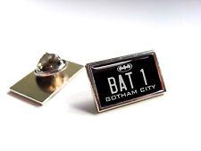 BATMAN BATMOBILE NUMBER PLATE LAPEL PIN BADGE TIE PIN GIFT