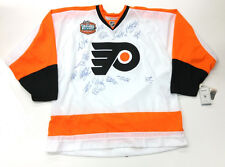 PHILIDELPHIA FLYERS TEAM SIGNED 2010 WINTER CLASSIC JERSEY DANIEL BRIERE COA