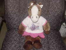 "18"" Build A Bear Pony Plush Dress In Hanna Montana Outfit Adorable"