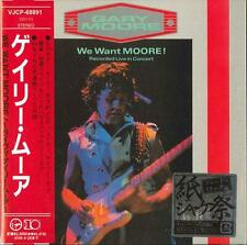 GARY MOORE-WE WANT MOORE(LIVE)-JAPAN MINI LP CD F50