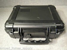 MILITARY PELICAN 6000 CASE BLACK DUST WATER PROOF SCUBA CAMERA LENS WATERTIGHT