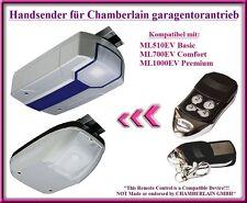 Kompatibel handsender für Chamberlain ML510EV Basic, ML700EV Comfort torantriebe