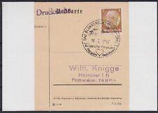 DR Mi Nr. 513 mit SST Bad Blankenburg Ausstellung 1937 auf Briefstück, used