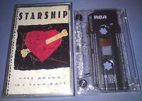 STARSHIP LOVE AMONG THE CANNIBALS cassette tape album T6224