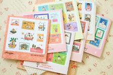 7321 Cartoon Stamp Stickers cute craft scrapbooking diary planner stamp sticker