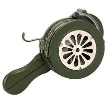YaeTek Aluminum Hand Crank Manual Operated Portable Metal Alarm / Siren Air Raid