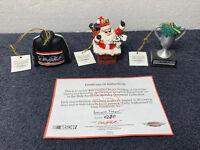 Dale Earnhardt #3 - Christmas Ornaments Hamilton 2003 - Set 7 of 7 HandPainted