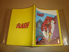 COPRI QUADERNO PLASTIFICATO FLASH DC COMICS 1979 (MARVEL - BATMAN - FLASH)