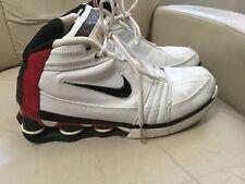 Nike Shox VC IV 4 shoes 310379 101 white/black/red size 9.5 Vince Carter