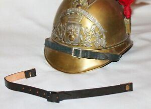 Jugulaire casque de Sapeur-Pompier modèle 1895, repro.