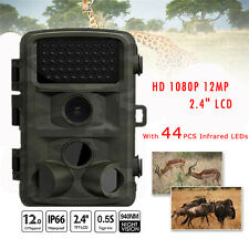 """Game Trail Hunting Cameras 1080P Full HD 12MP 2.4"""" LCD Paranormal Night Version"""