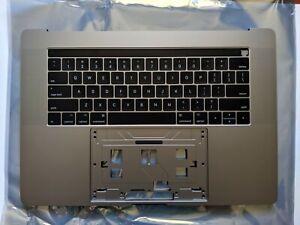 "Space grey A1707 Top case US Keyboard touchbar Macbook Pro Retina 15"" Palm rest"