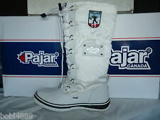 LADIES WHITE PAJAR GRIP 100% WATERPROOF WINTER/SNOW BOOTS UK SIZE 6
