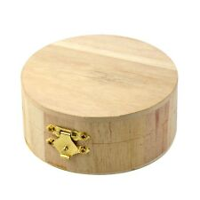 Wooden Crafts Jewelry Box Wood Mud Base Art Decor Children Kid Baby DIY Toys