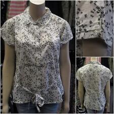 WHITE STUFF Cotton Short Sleeve Collared Women's Tops & Shirts