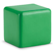 GREEN ANTI STRESS RELIEVER CUBE STRESS BALL RELIEF ARTHRITIS HAND PHYSIO TOY