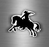 aufkleber auto moto motorrad reiter westernreiter cowboy rodeo autoaufkleber r1