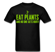 Eat plants no one gets hurt vegan vegie Tee T Shirt long sleeve Hoodie tank top