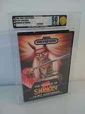Revenge of Shinobi Sega Genesis NES New VGA 90 Q 1st Launch Print Gorgeous MINT