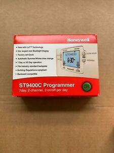 Honeywell ST9400C 7-Day Electronic Programmer with 2-Channel